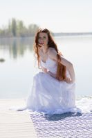 Crouched on the dock by Sinned-angel-stock