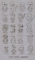 Original Characters- The Little Siders by DarkOliver