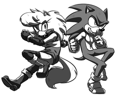 Angel and Sonic -RQ- by V1ciouzMizzAzn