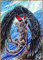 Epic Rescue ACEO by Sysirauta