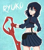 Ryuko M by Thebit07