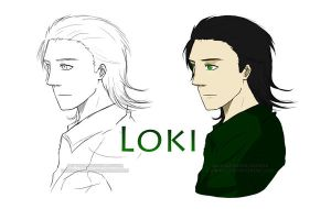 Loki Animation Reference by RainDragonX