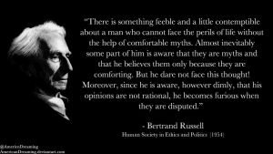 Bertrand Russell on Delusion by AmericanDreaming