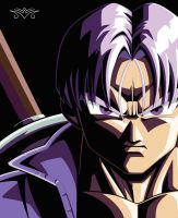 Future Trunks - Reminiscence of a Dark Past by MiraiWarriorWithin