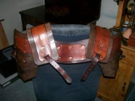 Leather Shoulders by GoblinHill