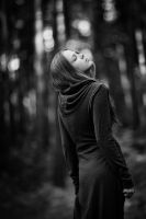 Maya in the pines II by birdofdecadence