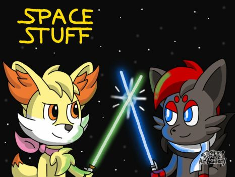 I drew some stuff in space (Old/Read Description) by HirotheZiro
