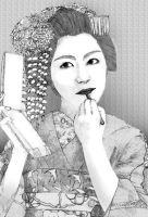 Geisha by chitototoy