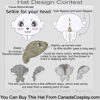 Selkie - Myth Hat Contest by Miss-Mokeytopa