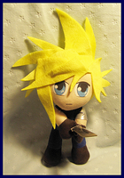 Cloud Strife by StarshinePlush