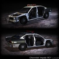 Chevy Impala 9c1 details by Schaefft