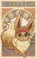 Eevee by Ra-Roo