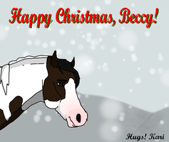 Happy Christmas, Beccy! by Kawisaurus