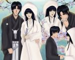 Aoshi and Megumi Married by LoiCasade