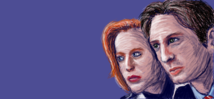 FB-I Mulder and Scully by StandsWithAPencil