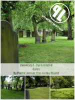 Cemetery pack 1 - Unrestricted by Cat-in-the-Stock