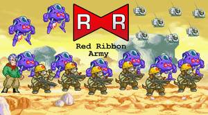 151. Red Ribbon Army by BeeWinter55
