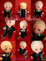 Draco Malfoy plush version by Momoiro-Botan