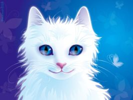 White Cat by rosinka