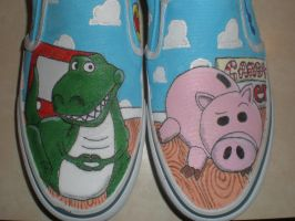 Toy Story Shoes by jroggen51391