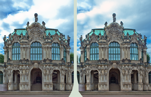 Zwinger Of Dresden 3D by zour