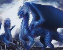 Two Blue by neylica