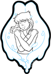Lapis Lazuli (no colour) [keychain] by Empty-Brooke