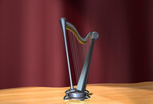 Why what a metallic harp... by TheColorCute
