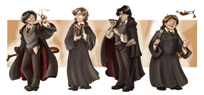 Marauders by IriusAbellatrix