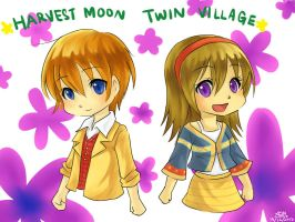 The Twin Village by christon-clivef