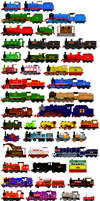 Thomas and Friends Animated Characters 12 by JamesFan1991