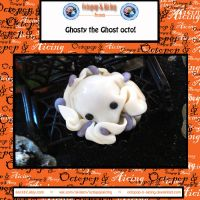 Ghosty Octopus Key Chain by Octopop-n-Aicing
