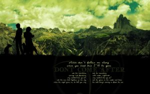 Ask the Mountains - widescreen by Seleyah