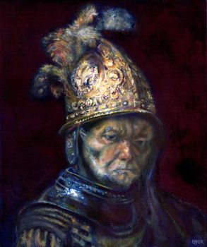 Rembrandt with Blue by JoshByer