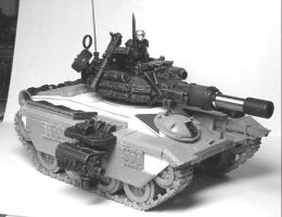 "M-24 ""Bearcat"" Tank by Leonas"