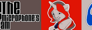 Jackie The Microphone Banner by Fiftyniner