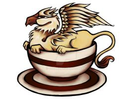 Griffin in a Teacup by ckranz