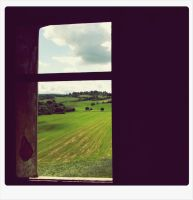window to summer by CrisBee