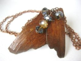 Natural tree bark necklace by faranway