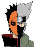 Madara - Kakashi by AjNeverDies