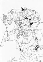 Inktober #18 and #19 - Ravage and Nautica by pika