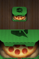 Pizza iOS App Icon by TheRyanFord