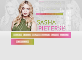 free layout ft. Sasha Pieterse by mmmystery