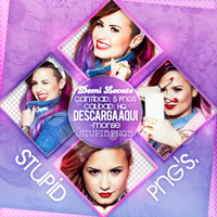 +Demi Lovato PNG'S by MonsitaEdiciones