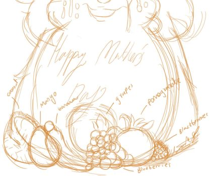 Tattletail: Mother's day SKETCH by ModernLisart