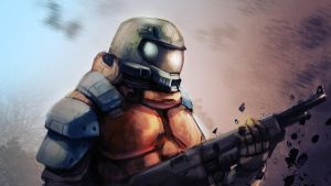 Soldier by AndrewWest