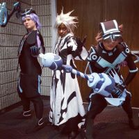 Riku, Xemnas, and Sora by TheDreamerWithin616