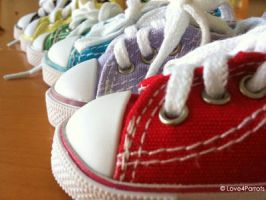 Colorful Converse by Shutterbug0629