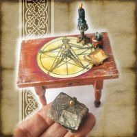 Summoning Table Miniature by grimdeva