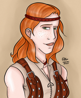 Commish - Aveline by kamidoodles